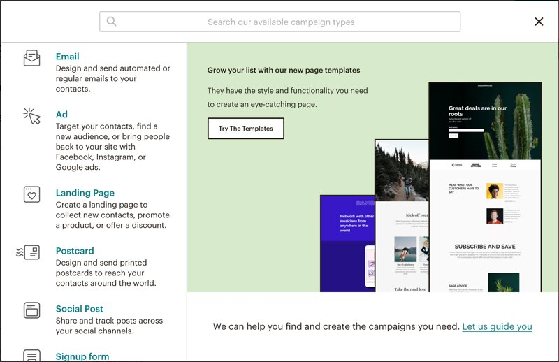 آموزش mailchimp؛ سه اشتباه رایج در میل چیمپ 6